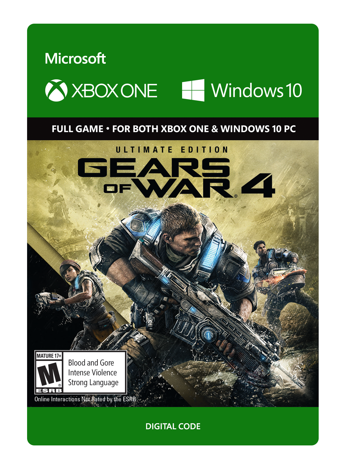 Gears of War 4 Ultimate Edition | Xbox One | GameStop