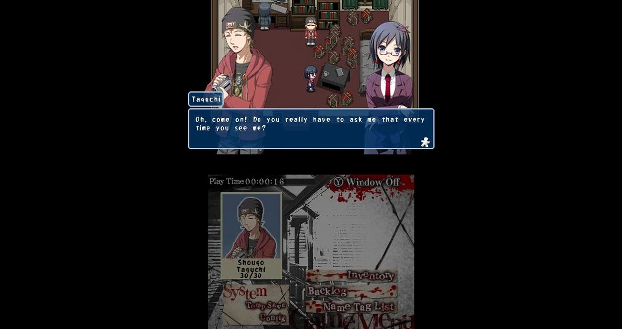 Corpse Party Back to School Edition