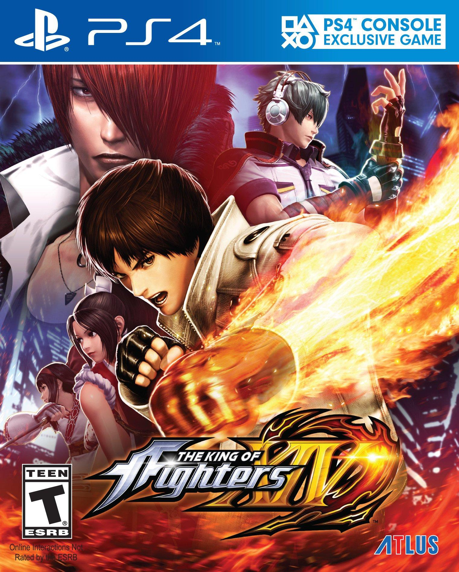 The King Of Fighters Xiv Playstation 4 Gamestop