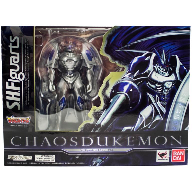 Digimon Chaos Dukemon S.H.Figuarts Statue