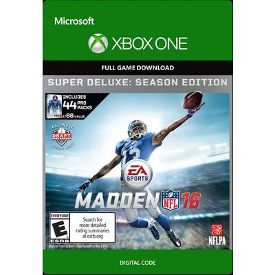 Madden NFL 16 Super Deluxe Edition