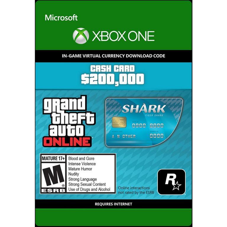Grand Theft Auto Online: The Tiger Shark Cash Card