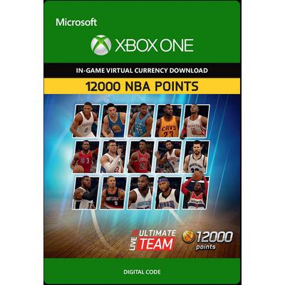 NBA Live 16 Ultimate Team 12000 NBA Points