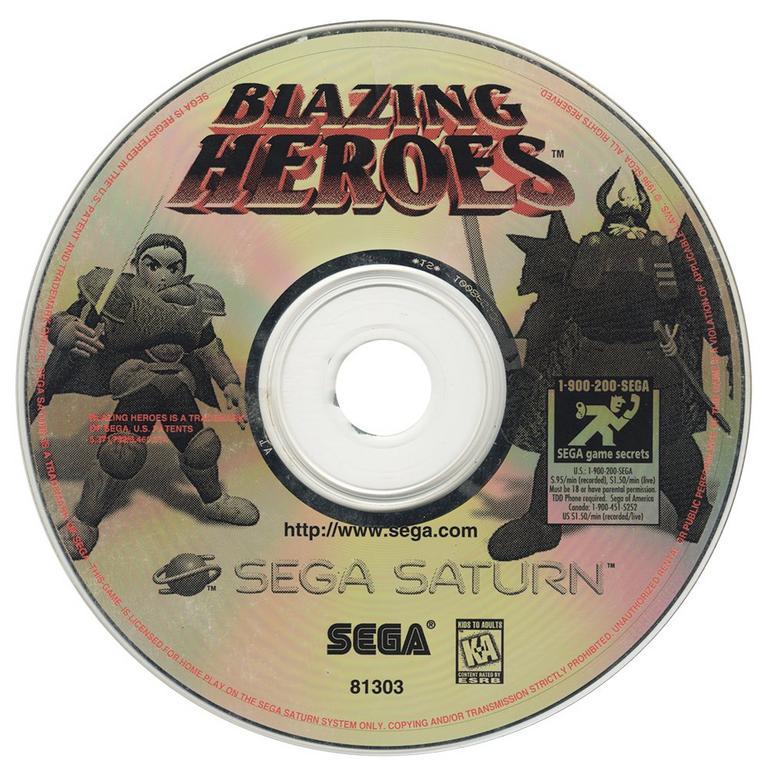 Blazing Heroes