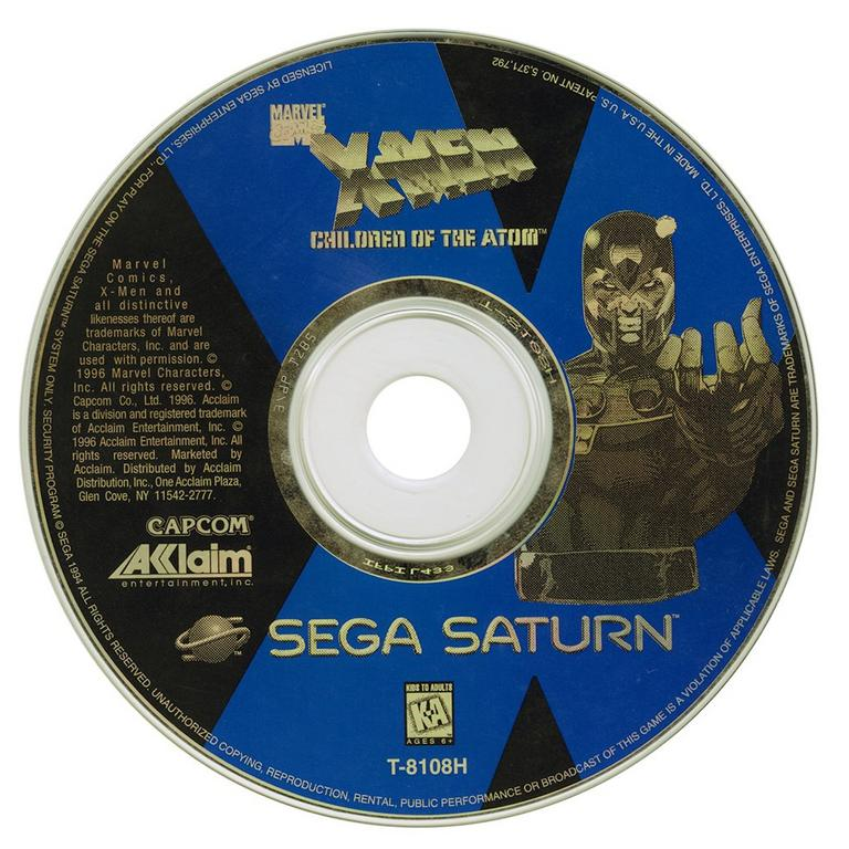 X-Men: Children of the AtomSega Saturn | GameStop