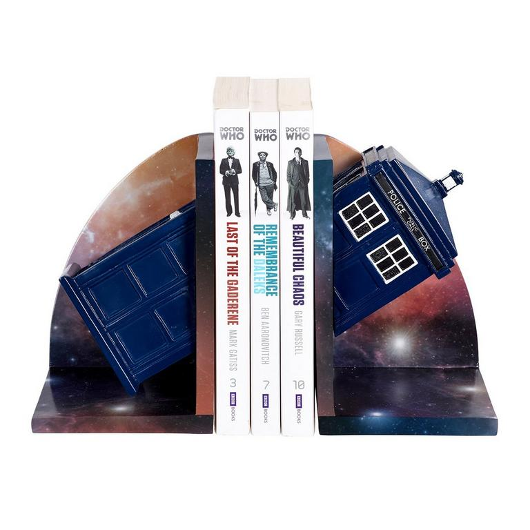 Dr. Who: Tardis Bookends