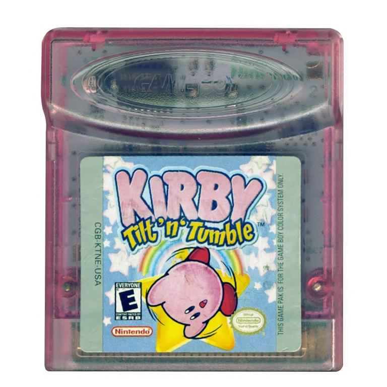 Kirby's Tilt 'n' Tumble
