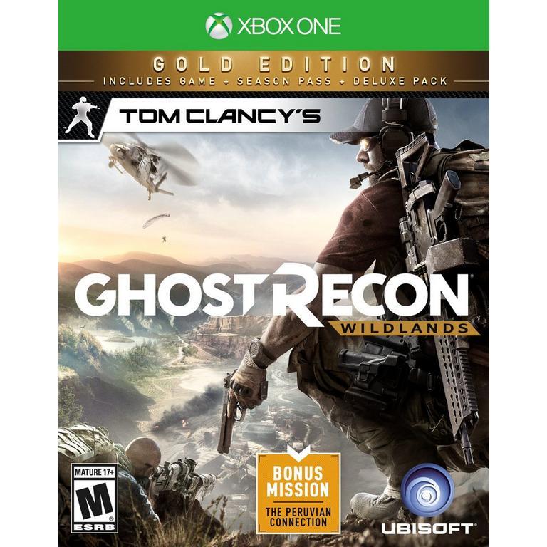 Tom Clancys Ghost Recon Wildlands Gold Edition Xbox One Gamestop