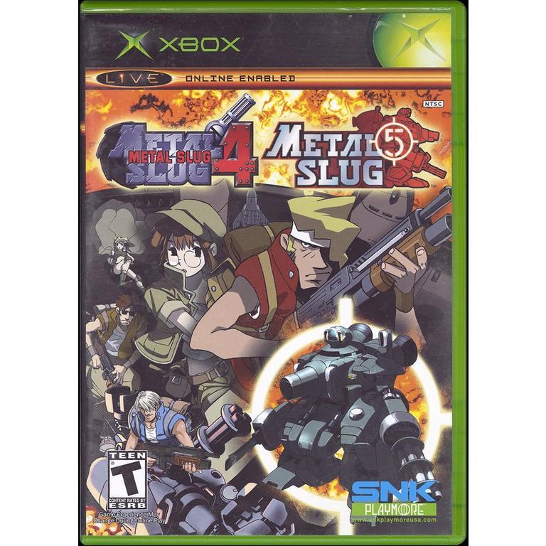 Metal Slug 4 and Metal Slug 5