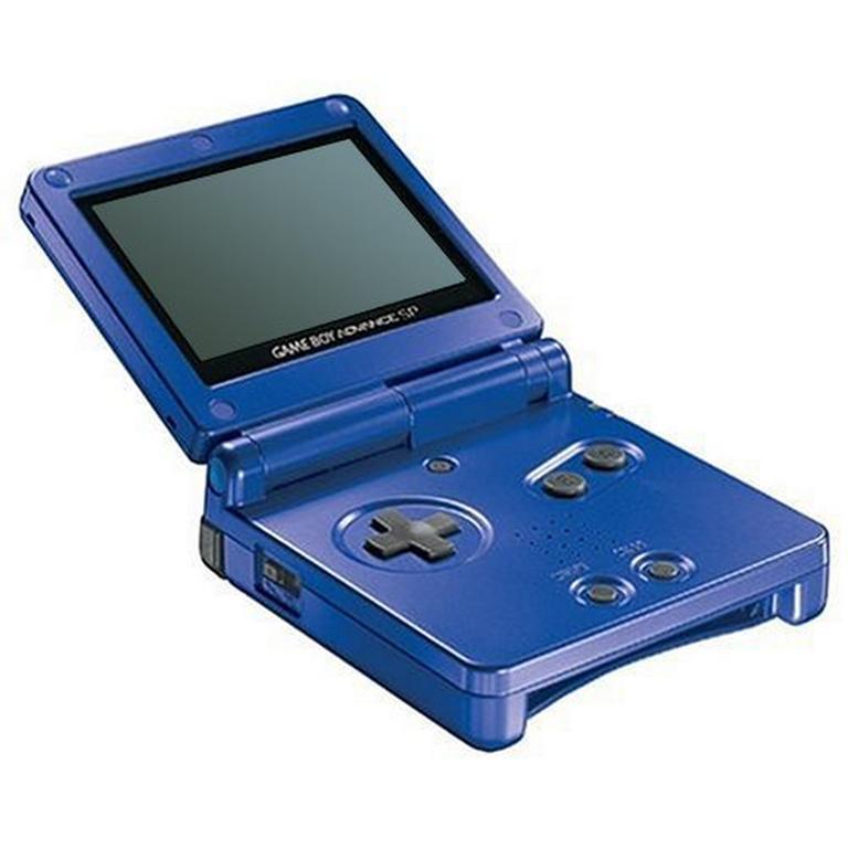 Nintendo Game Boy Advance SP Cobalt Blue GameStop Premium Refurbished