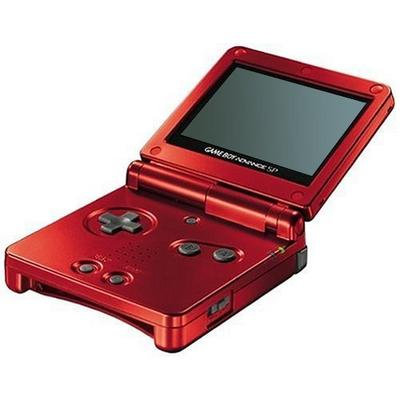 Nintendo Game Boy Advance SP - Flame Red