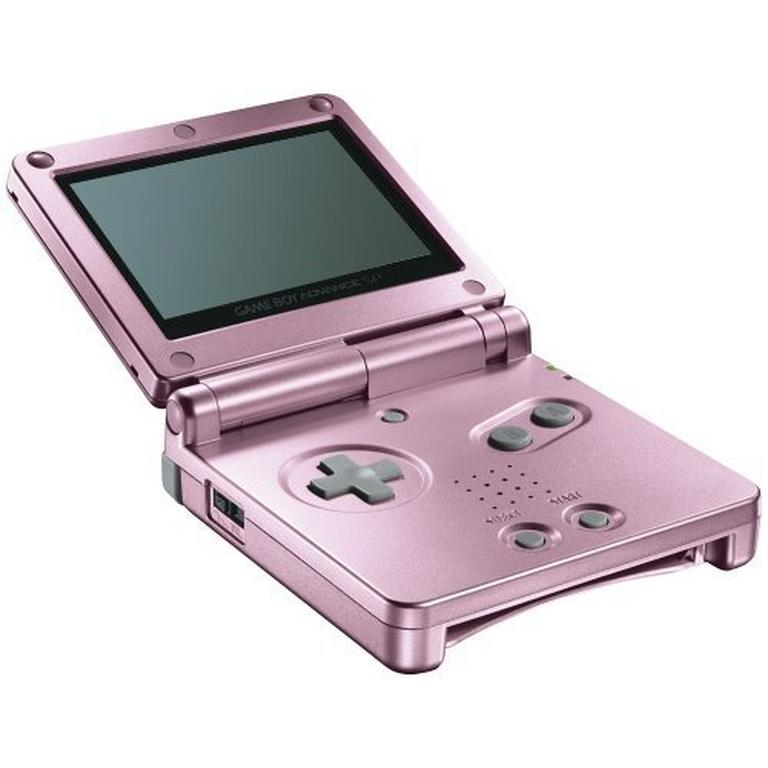 Nintendo Game Boy Advance SP Pearl Pink GameStop Premium Refurbished