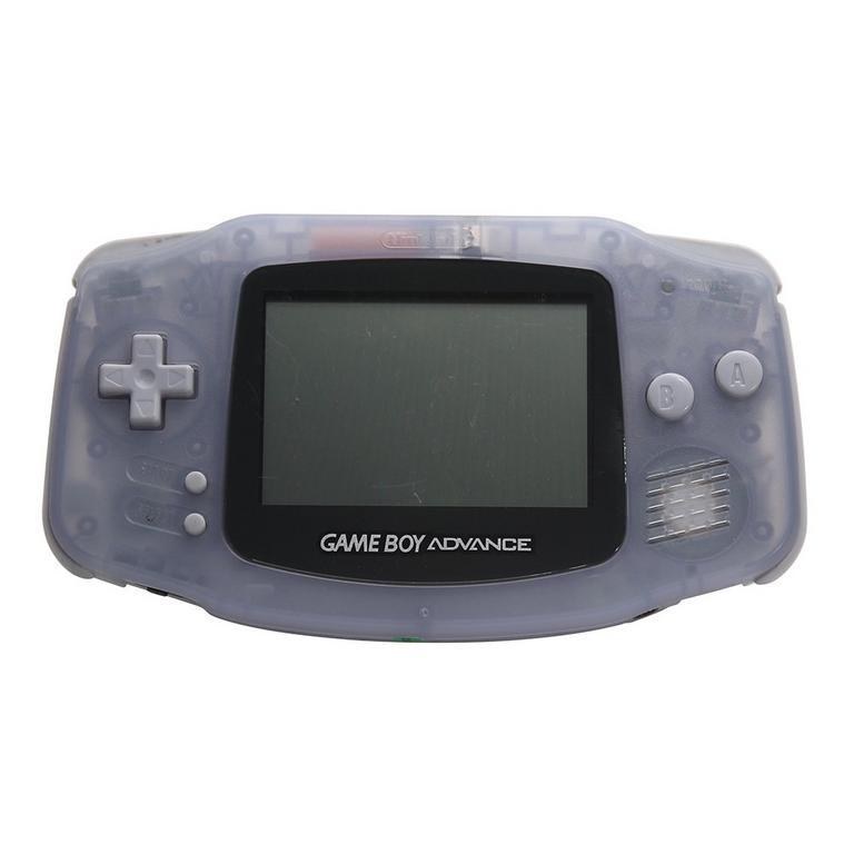 Nintendo Game Boy Advance Glacier GameStop Premium Refurbished