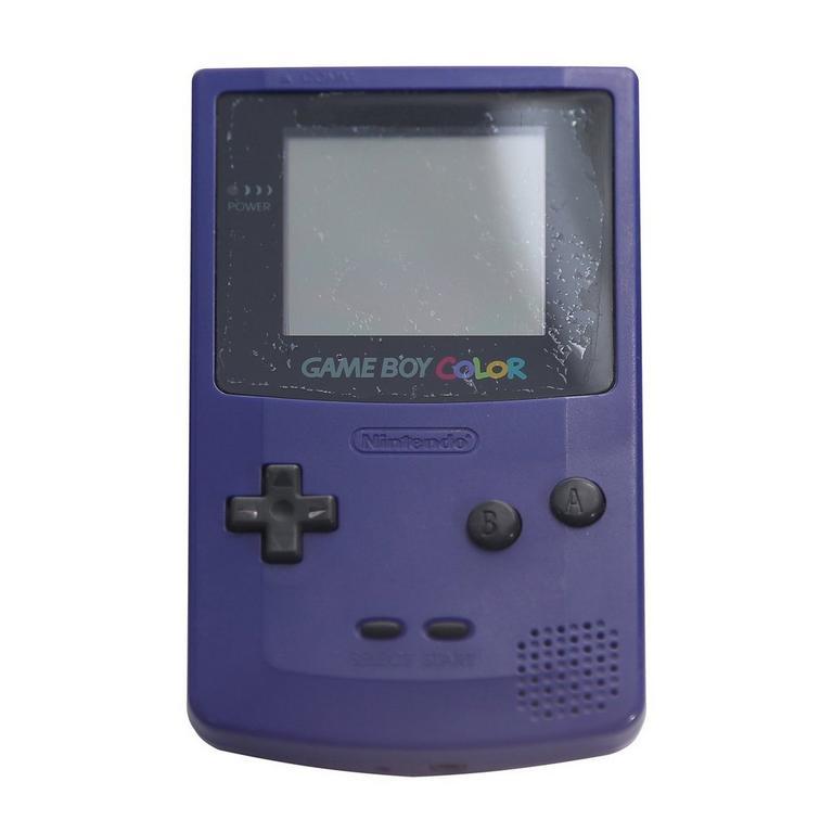 Nintendo Game Boy Color Grape GameStop Premium Refurbished