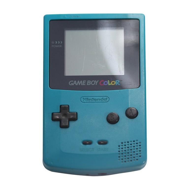 Nintendo Game Boy Color Teal GameStop Premium Refurbished
