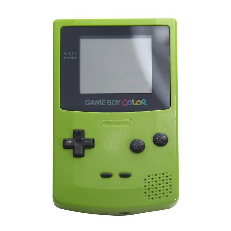 Nintendo Game Boy Color Kiwi GameStop Premium Refurbished