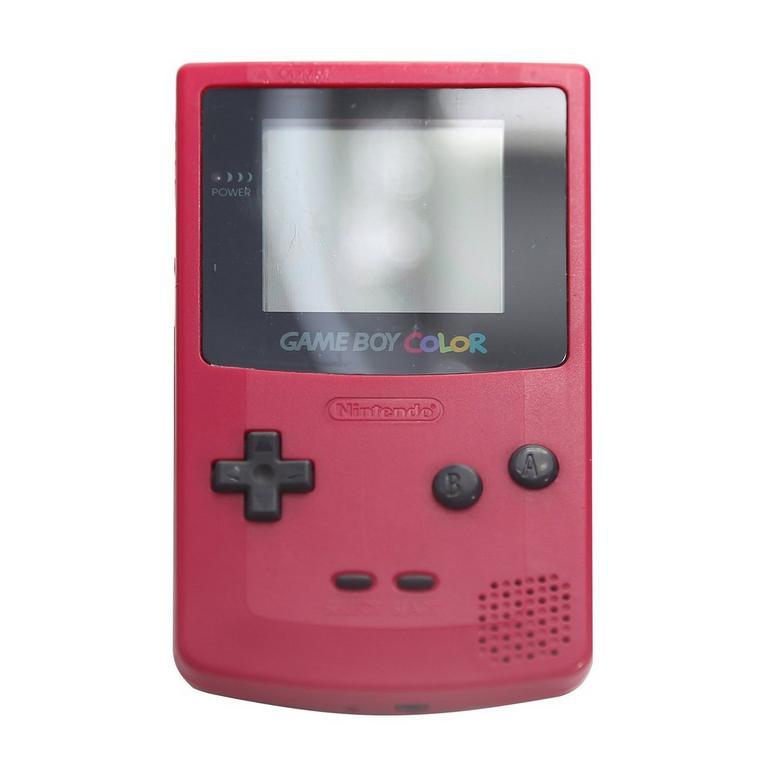 Nintendo Game Boy Color Berry GameStop Premium Refurbished