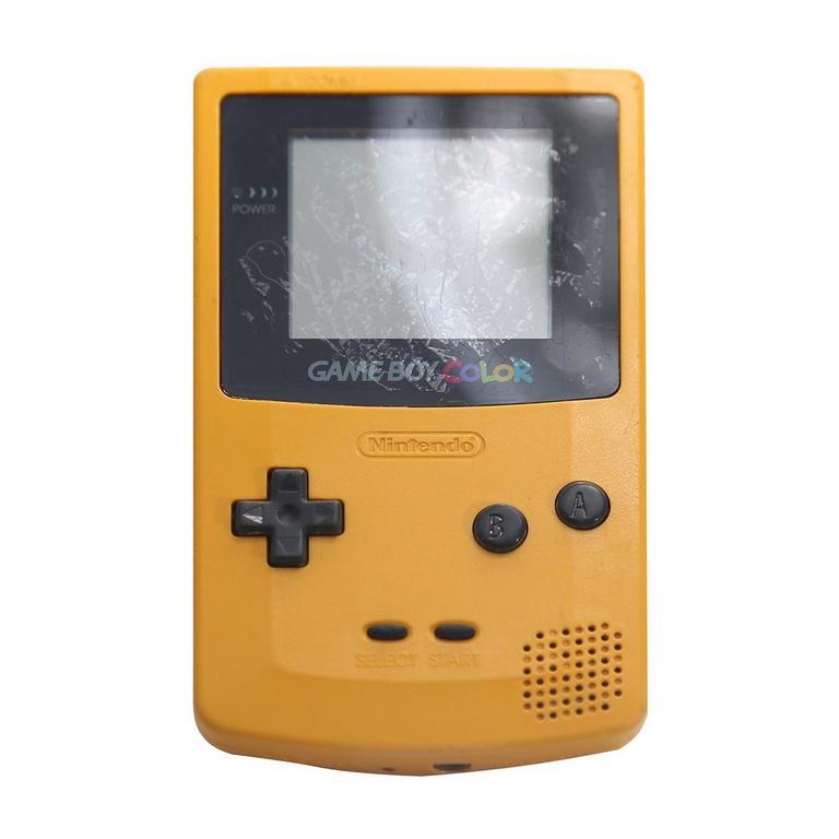 Nintendo Game Boy Color Dandelion GameStop Premium Refurbished