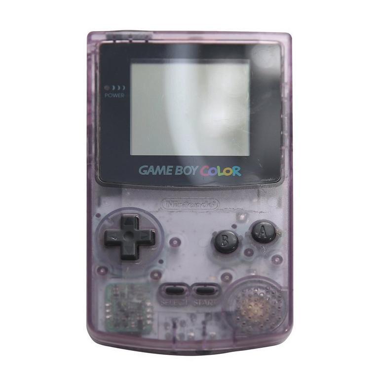 Nintendo Game Boy Color Atomic Purple GameStop Premium Refurbished