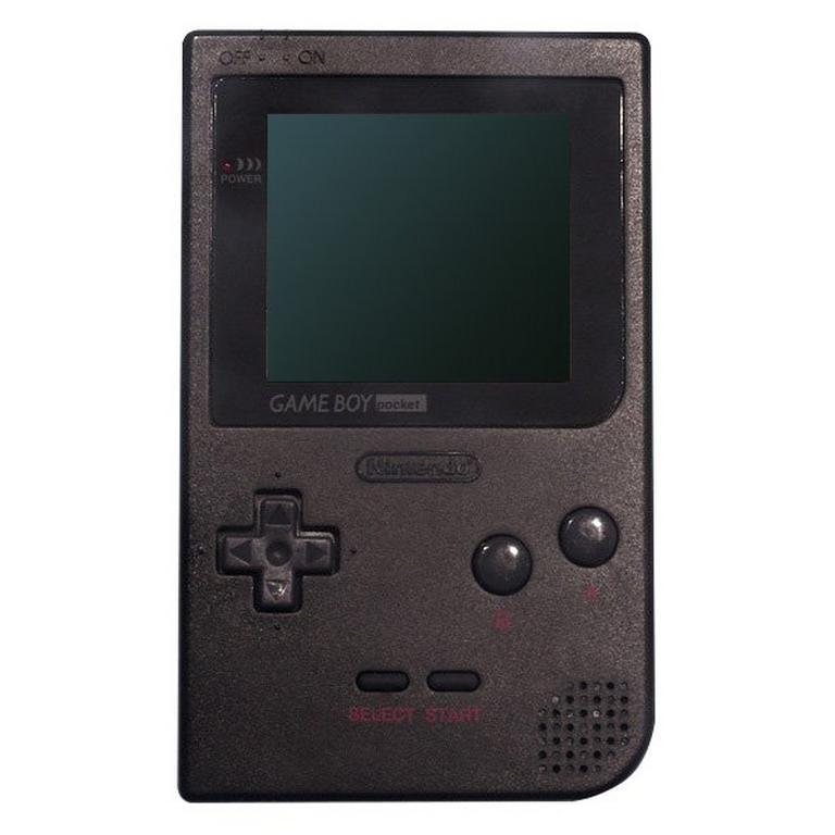 Nintendo Game Boy Pocket Black