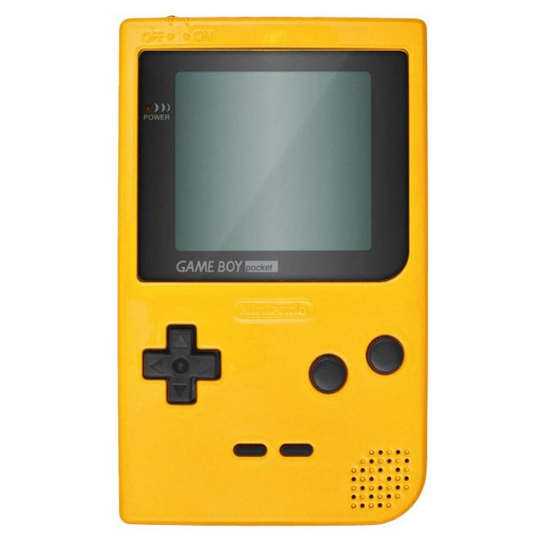 Nintendo Game Boy Pocket Yellow GameStop Premium Refurbished