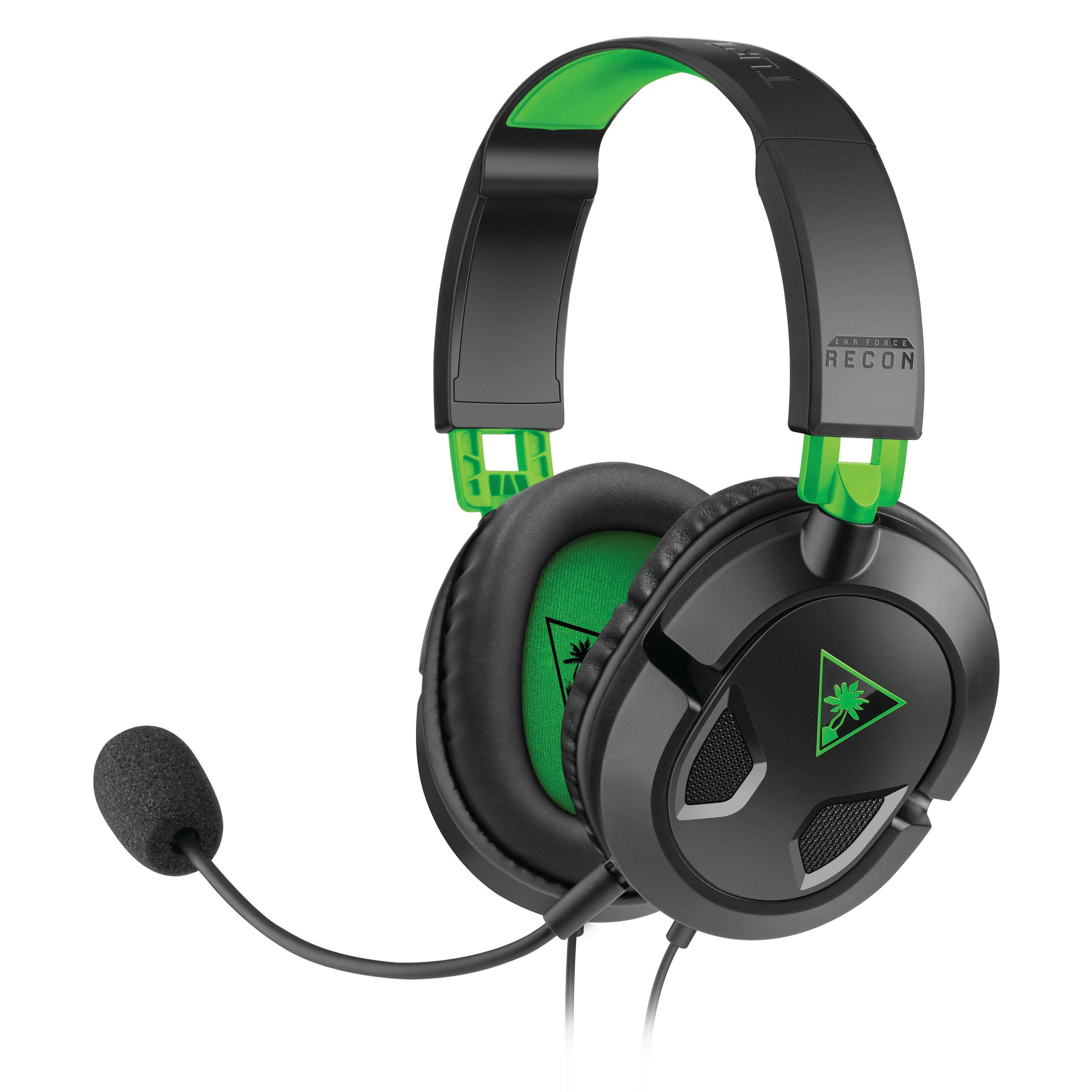 Ear Force Recon 50x Black Wired Gaming Headset For Xbox One Xbox One Gamestop