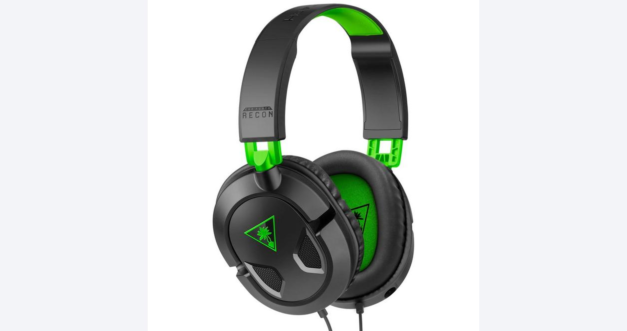 Ear Force Recon 50X Black Wired Gaming Headset for Xbox One