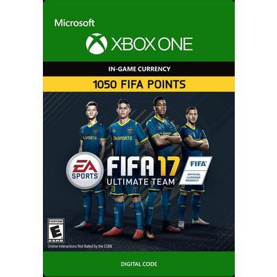FIFA 17 1050 Ultimate Team Points Digital Card