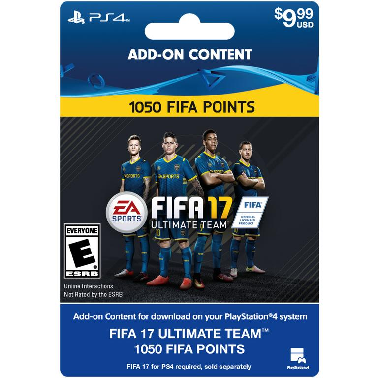 FIFA 17 Ultimate Team 1050 Points