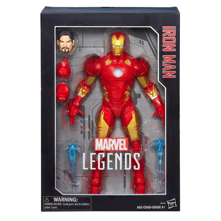 Marvel Legends Series Iron Man Action Figure 12 in