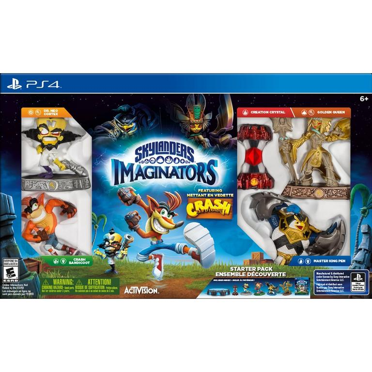 Skylanders Imaginators Starter Pack - Crash Bandicoot Edition