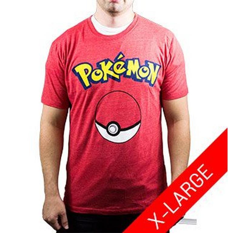 Pokemon Logo with Poke Ball T-Shirt