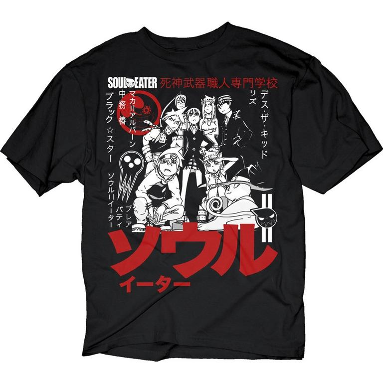 Soul Eater Group Japan T-Shirt