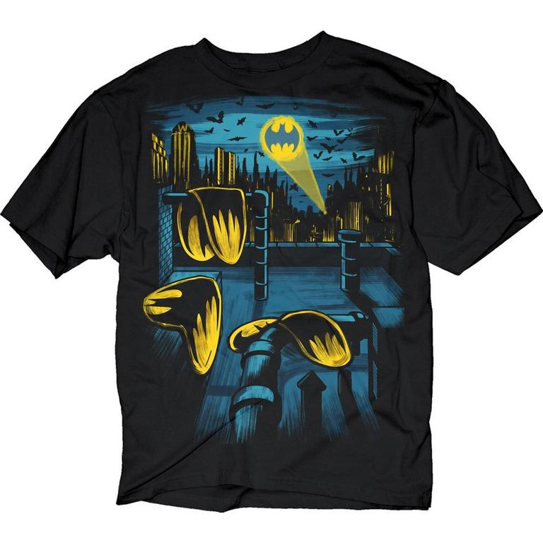 Batman Melting Logos T-Shirt