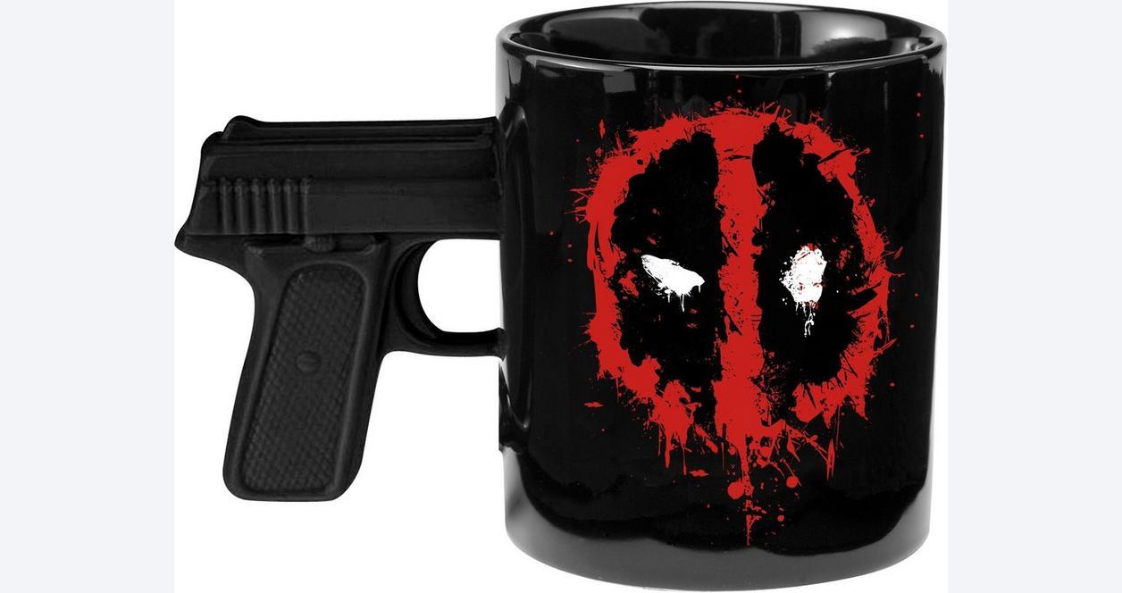 Deadpool 20 oz Ceramic Sculpted Mug