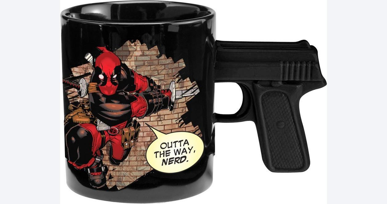 Deadpool Sculpted Mug