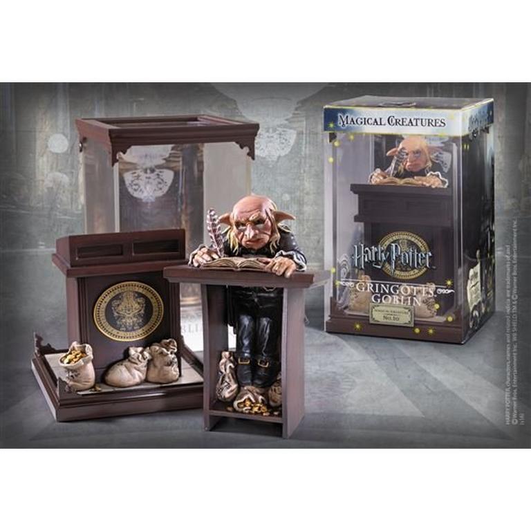 Harry Potter Gringotts Goblin Magical Creatures Statue