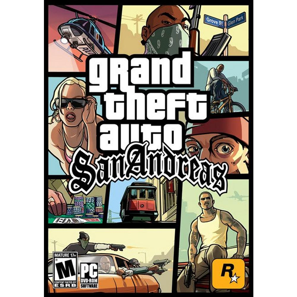 Grand Theft Auto: San Andreas | PC | GameStop