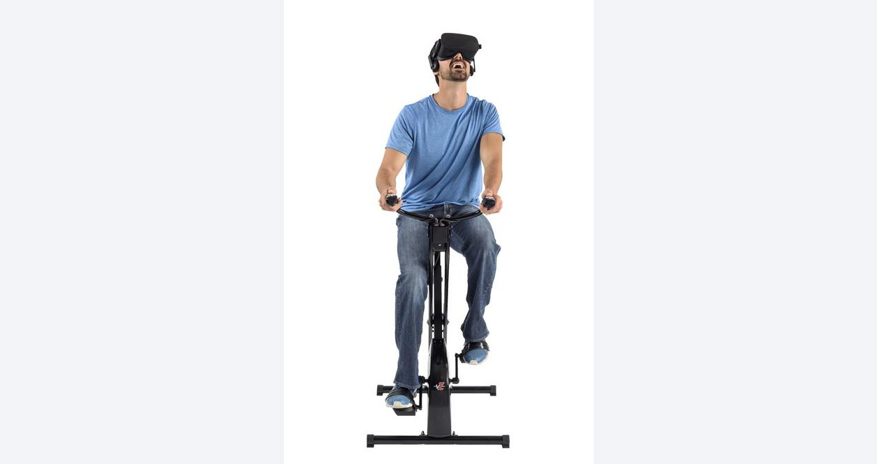 VirZoom Virtual Reality Game System - Folding VR Bike Controller and Arcade