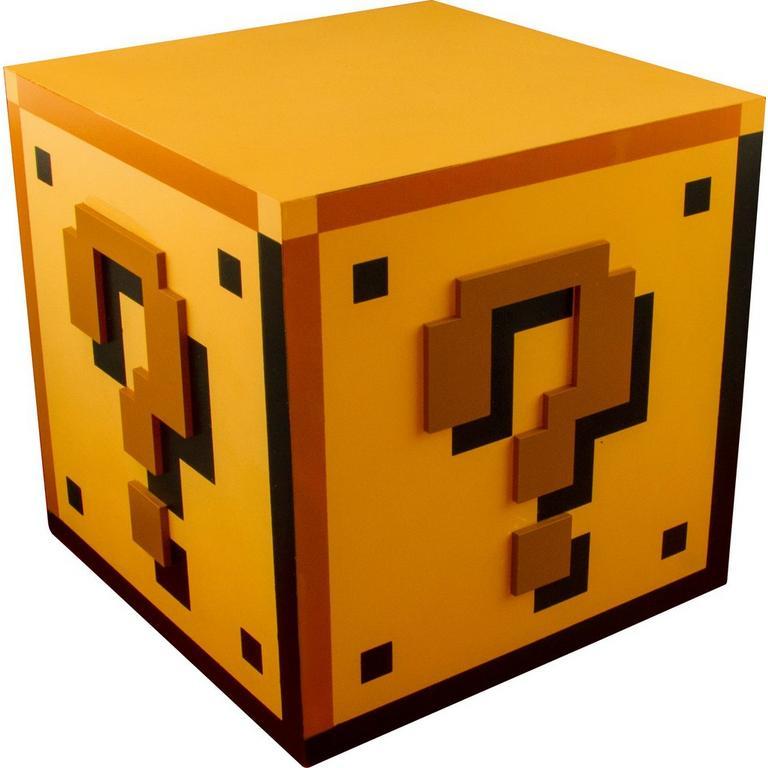 Super Mario Bros Question Block Lamp - by ThinkGeek