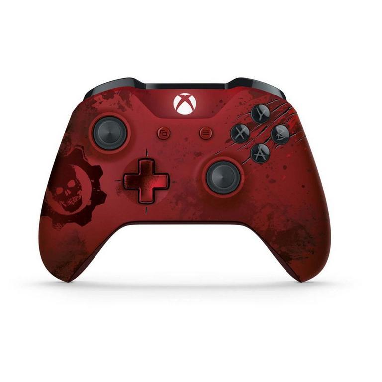 Microsoft Xbox One Gears of War 4 Crimson Omen Limited Edition Wireless Controller
