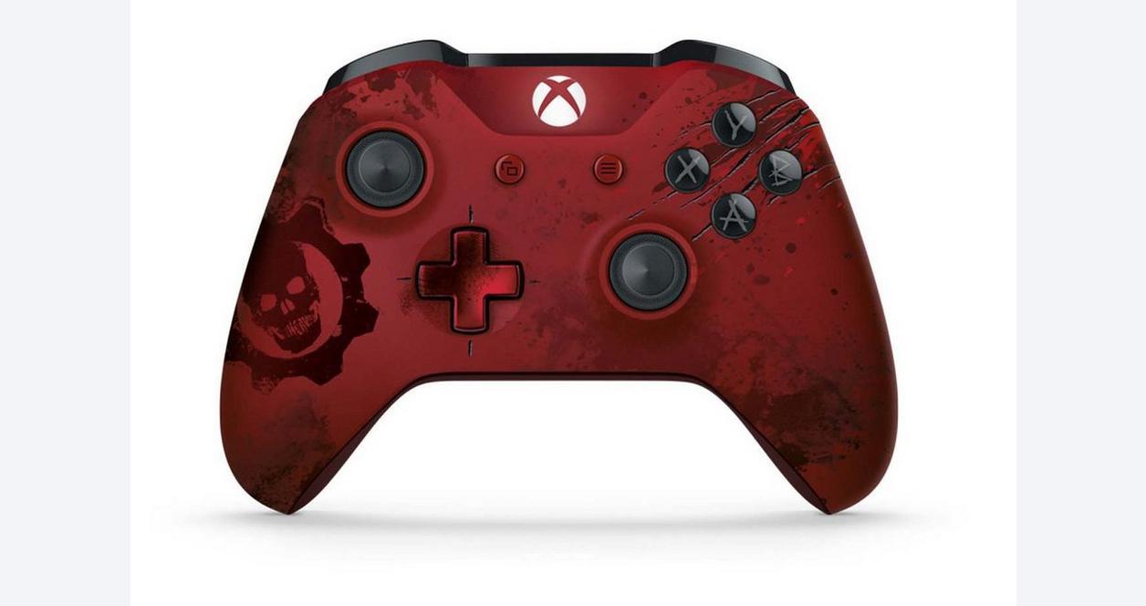 Microsoft Xbox Gears of War 4 Crimson Omen Limited Edition Wireless Controller