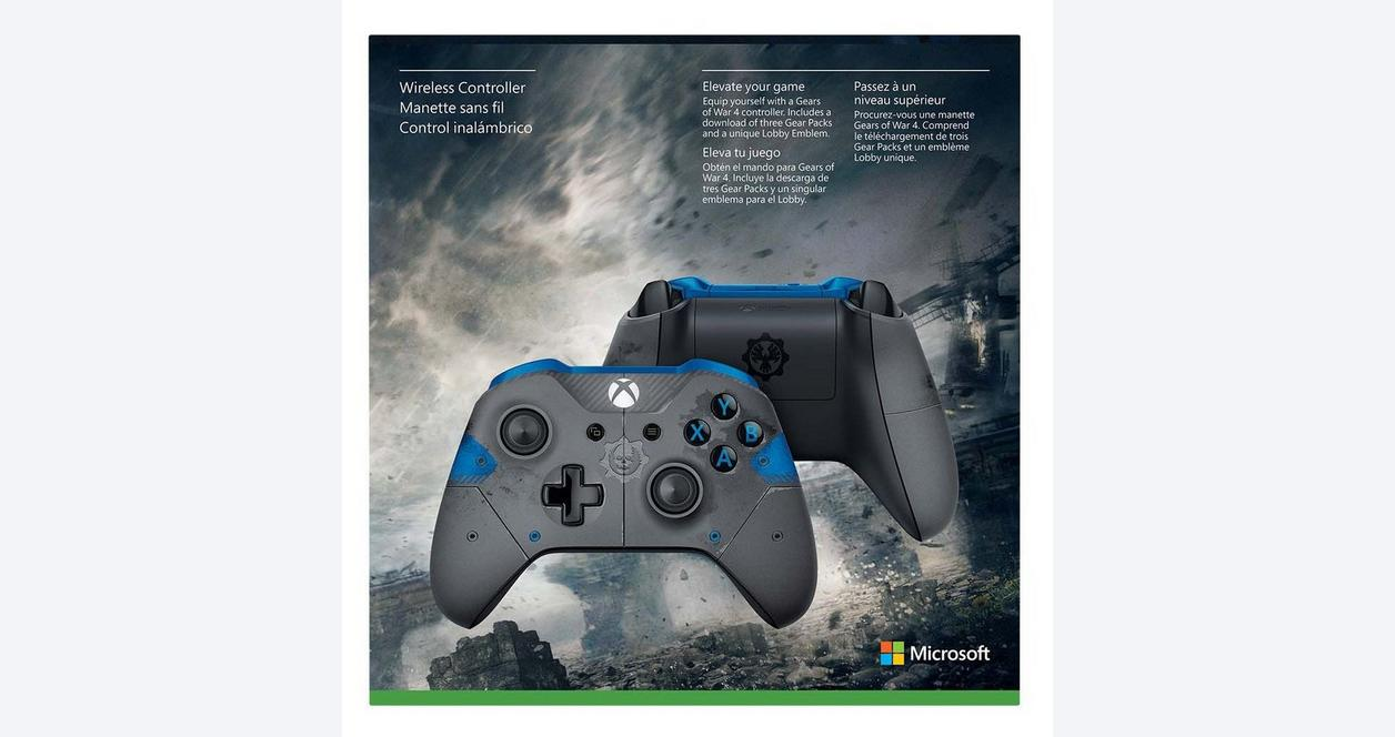 Microsoft Xbox One Gears of War 4 JD Fenix Limited Edition Wireless Controller Only at GameStop