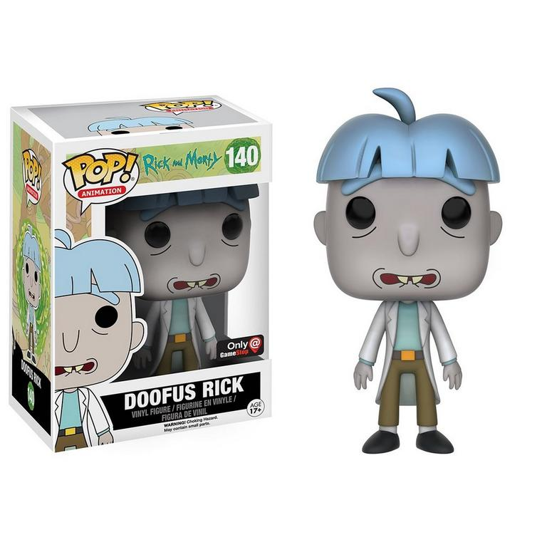POP! Animation: Rick and Morty Doofus Rick Only at GameStop