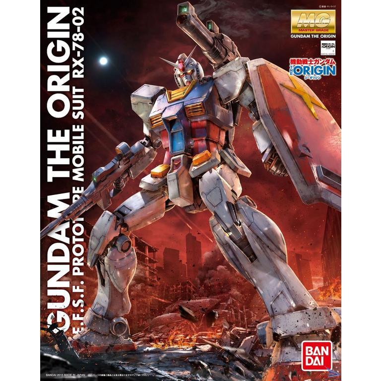 Master Grade RX-78 02 (Gundam the Origin) Model Kit