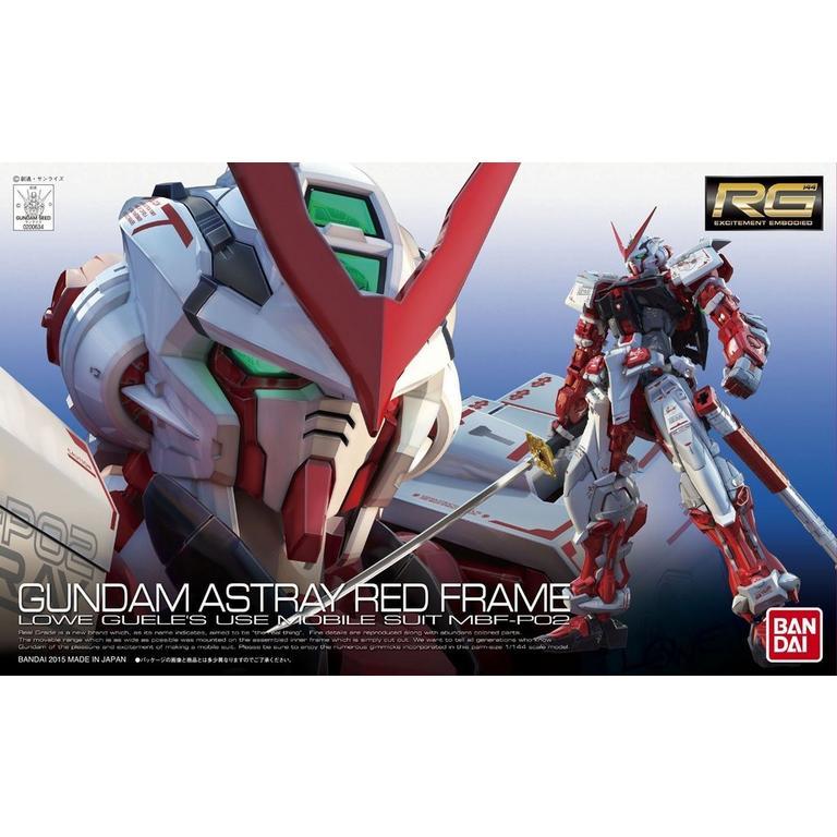 Mobile Suit Gundam SEED Astray Gundam Astray Red Frame Real Grade Model Kit