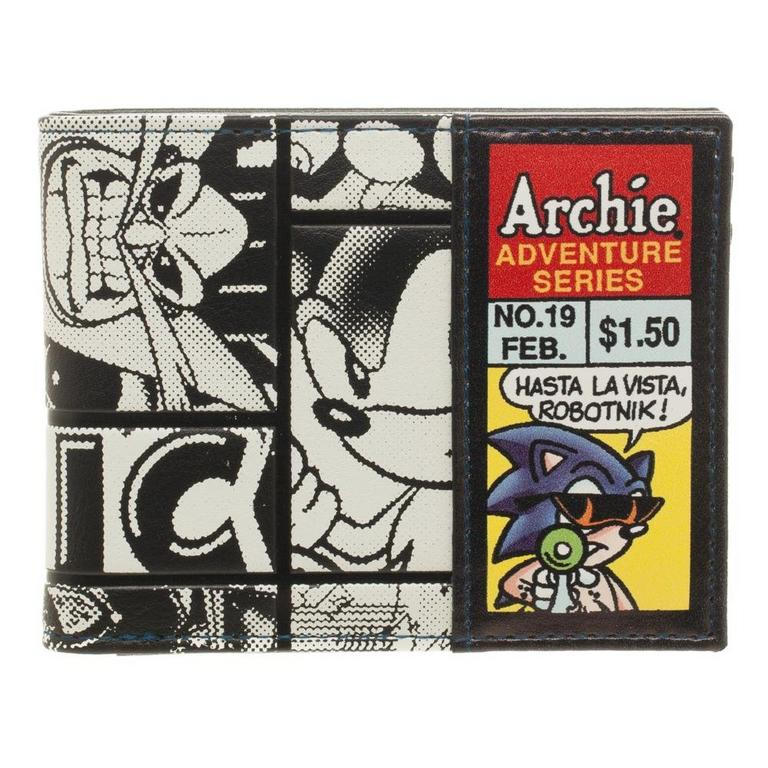 Sonic Archie Comic Wallet