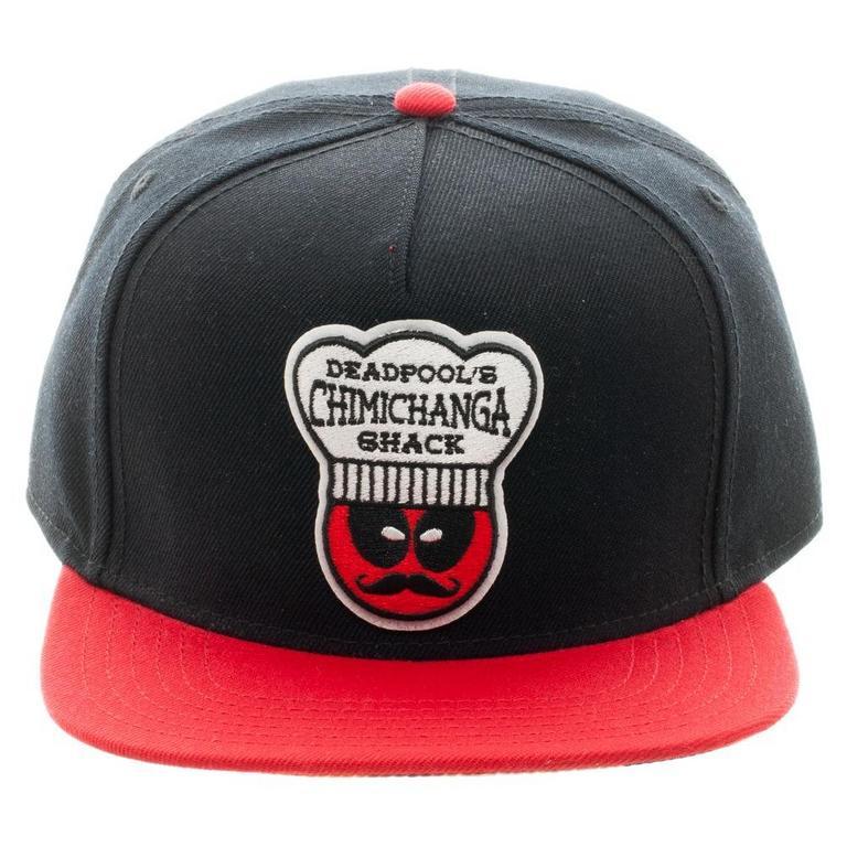Deadpool Chimichanga Shack Baseball Cap