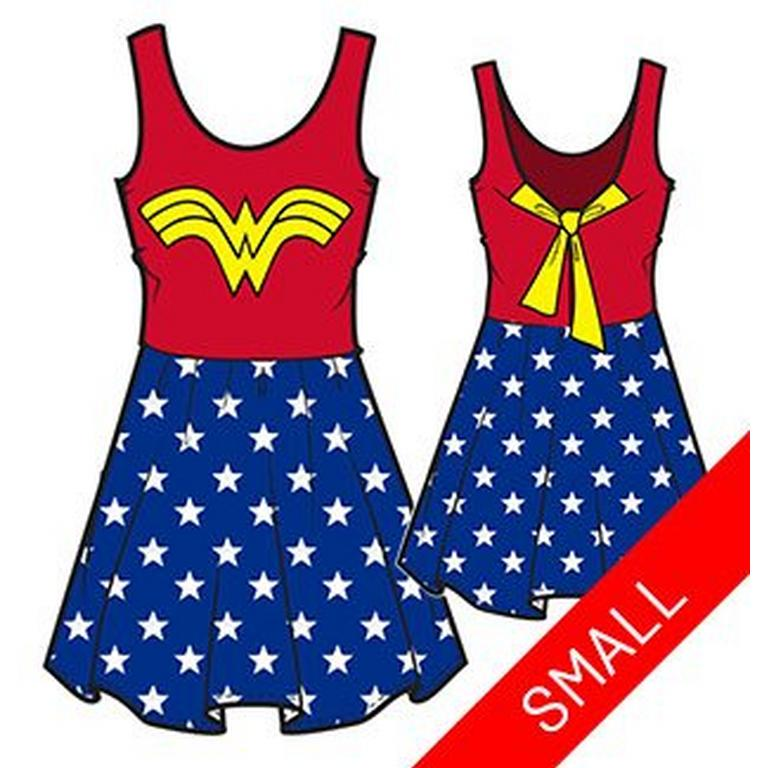 DC Wonder Woman Dress with Stars