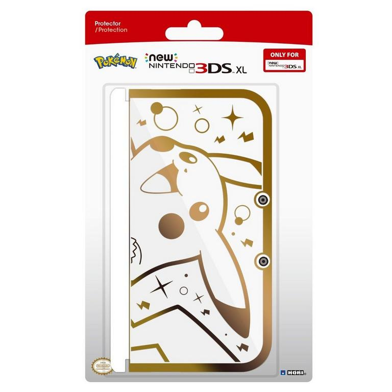 Nintendo New 3DS XL Gold Pikachu Protector Case